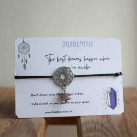 Bratara Dream Catcher cu ametist