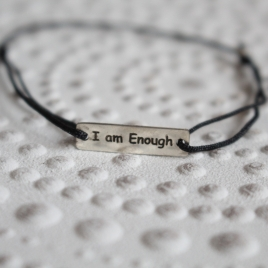 "Bratara ""i am enough"""